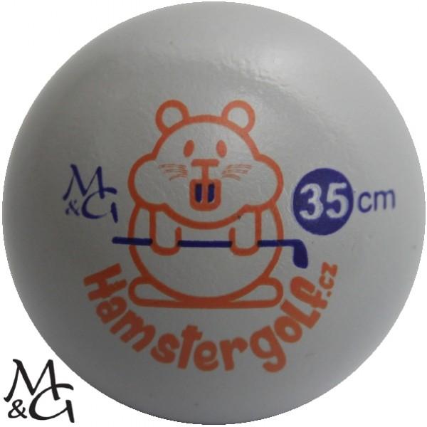 M&G Hamster 35 - Minigolfball für hohe Ansprüche