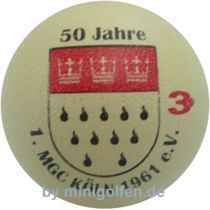 3D 50 Jahre 1 MGC Köln 1961 ev