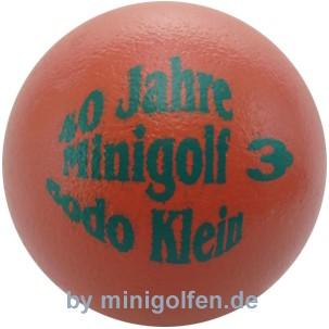 3D 40 Jahre Minigolf Bodo Klein