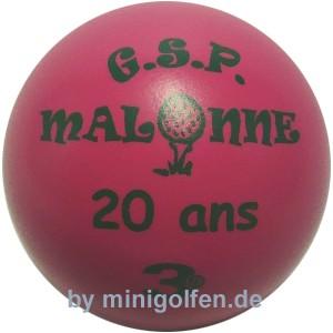 3D 20 Jahre GSP Malonne