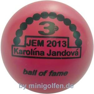 3D BoF JEM 2013 Karolina Jandova