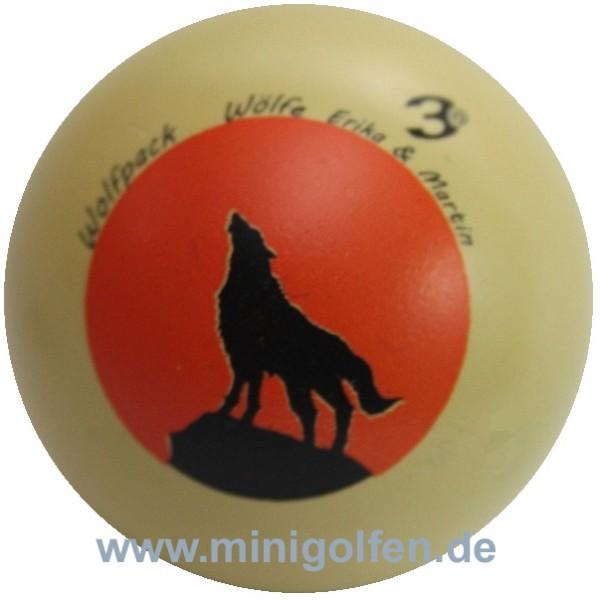 3D Wolfpack Wölfe Erika & Martin