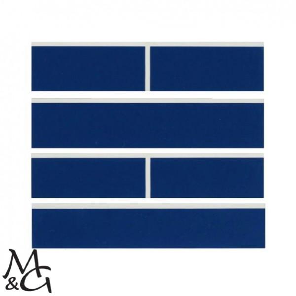 Schlägerplatte für Minigolfschläger blau