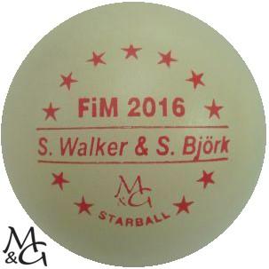 M&G Starball FiM 2016 Sandra Walker & Seija Björk