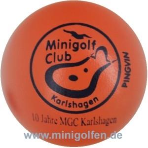 Pingvin 10 Jahre MGC Karlshagen