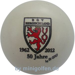 SV BGV Bergischland 50 Jahre 1962 - 2012