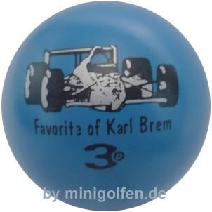 3D Favorite of Karl Brem