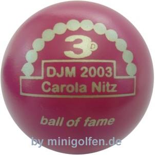 3D BoF DJM 2003 Carola Nitz