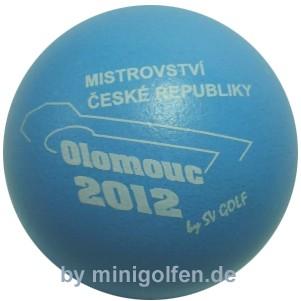 SV Czechische Meisterschaft Olomouc 2012