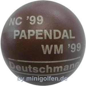 Deutschmann WM & NC 1999 Papendahl