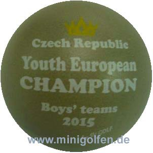 SV Youth European Champion Boys Teams 2015 Czech Republic