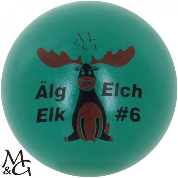 M&G Älg - Elch - Elk #6