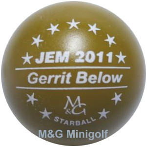 M&G Starball JEM 2011 Gerrit Below