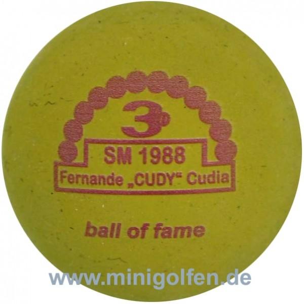 """3D BoF SM 1988 Fernande """"CUDY"""" Cudia"""