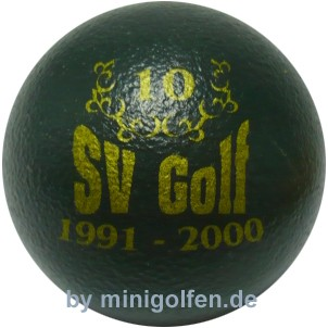 SV 10 Jahre SV Golf 1991-2000