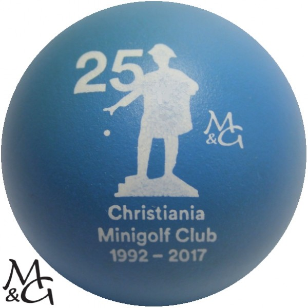 M&G 25 Jahre Christiania Minigolf Club