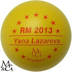 M&G Starball RM 2013 Yana Lazareva
