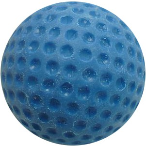 Minigolfball Standartball genoppt