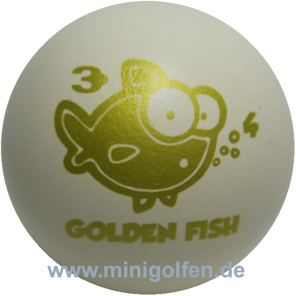 3D Golden Fish #4