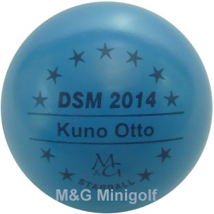 M&G Starball DSM 2014 Kuno Otto