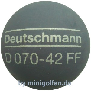 Deutschmann 070-42 FF