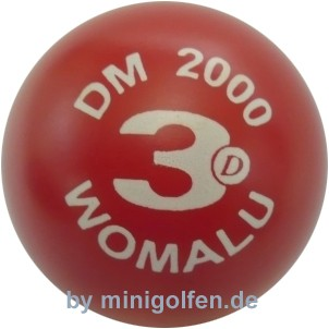 3D DM 2000 Womalu