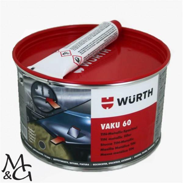 Spachtelmasse für Minigolfanlagen - Vaku 60 - Würth