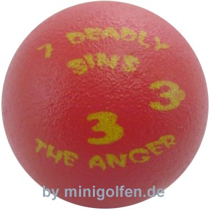 3D 7 Deadly Sins #3 The Anger