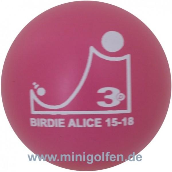 3D Birdie Alice 15-18