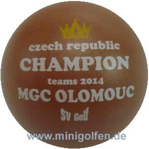 SV Czech Champion teams 2014 MGC Olomouc