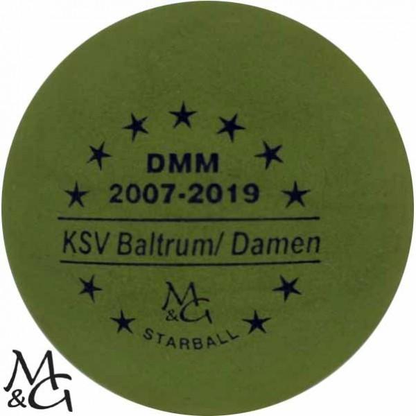 M&G Starball DMM 2007-18 KSV Baltrum/ Damen