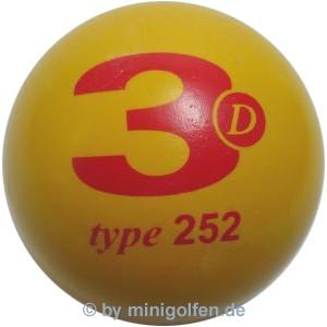 3D type 252 M