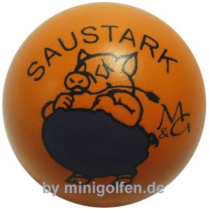 "M&G Saustark ""orange"""