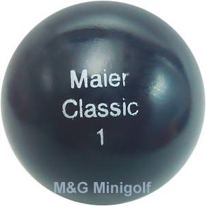 maier Classic 1 - Minigolfball für hohe Ansprüche