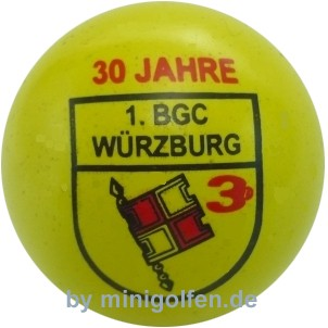 3D 30 Jahre 1. BGC Würzburg