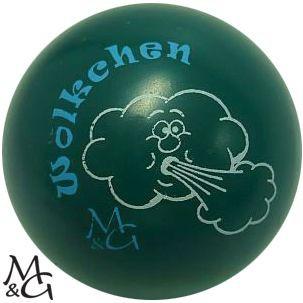 """M&G Wölkchen """"grün"""""""