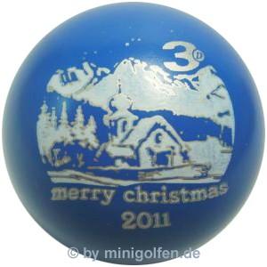 3D Merry Christmas 2011