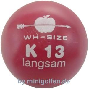 wh-size K13 langsam