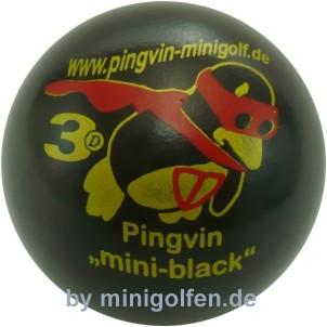 """3D Pingvin """"Mini-Black"""""""