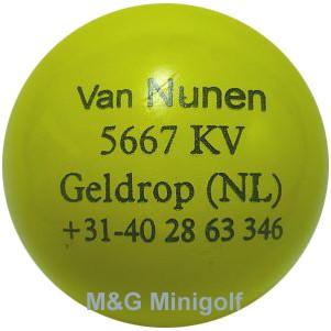 """mg Van Nunen """"gelb"""""""