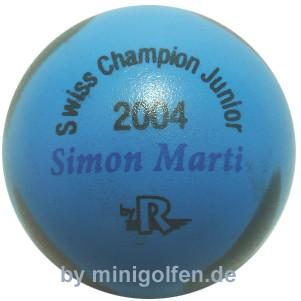 Reisinger Swiss Champ. Junior 2004 Simon Marti