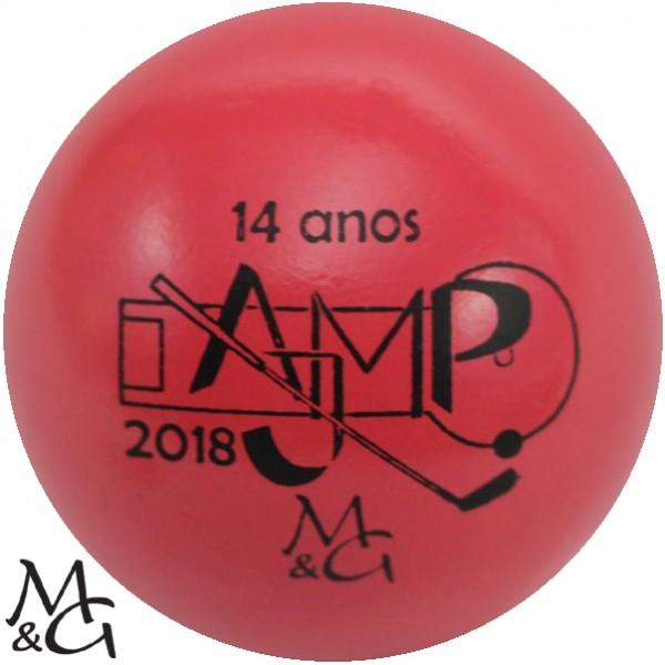 M&G 14 anos AJMP 2018