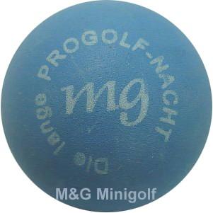 """mg Die lange ProGolf Nacht """"blau"""""""