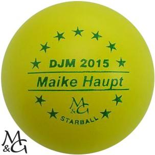 M&G Starball DJM 2015 Maike Haupt