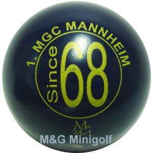 M&G 45 Jahre 1.MGC Mannheim