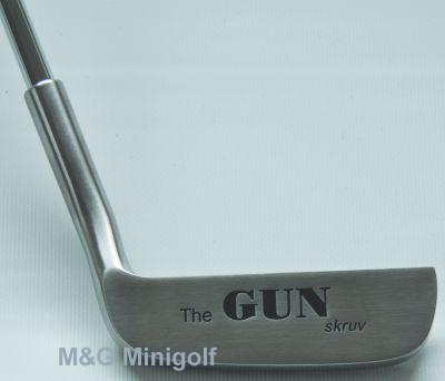 The Gun - Minigolfschläger