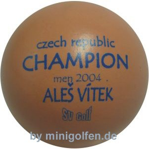 SV Czech CHAMPION men 2004 Ales Vitek