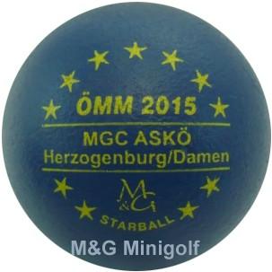 M&G Starball ÖMM 2015 Herzogenburg/ Damen
