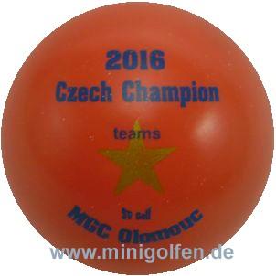 SV Czech Champion 2016 teams MGC Olomouc