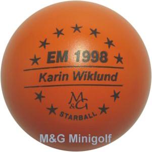 M&G Starball EM 1998 Karin Wiklund